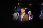 Adam Lerman sings with the Titanics at Big Band Hot 100