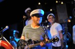 Ben Lerman (leader, guitar, vocals) with the Titanics at Big Band Hot 100
