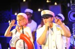 Ben Lerman and Glennis McMurray sing with the Titanics at Big Band Hot 100